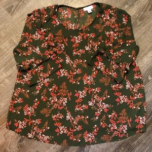 💐Flowy Floral Maternity Blouse 💐